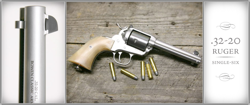 32 20 Ruger Single Six